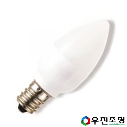 LED 고추구 꼬마전구 1w E12 연등전구/미니전구 - 전구색(노란빛)