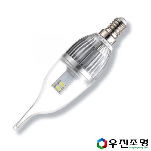 LED 프레임촛대구 4w E26 -촛불구/샹들리에/미니전구- 전구색(노란색)