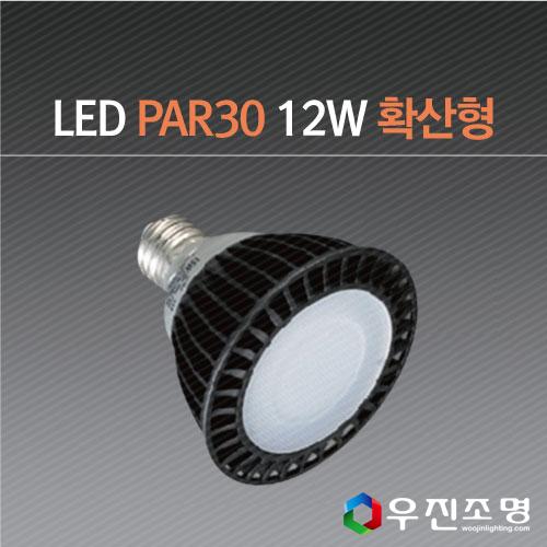LED PAR30 확산형 12W -전시조명/매장조명/전구/레일등